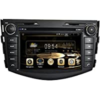 GPS Navigation Android 7.1 Car Stereo CD DVD Player In Dash Radio with 7 LCD Bluetooth Multimedia System for TOYOTA RAV4 2006-2012