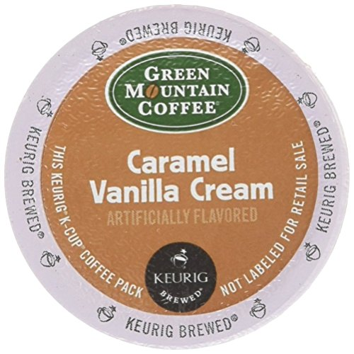 Green Mountain Coffee Caramel Vanilla Cream, K-Cup Portion Pack for Keurig K-Cup Brewers, 72-Count