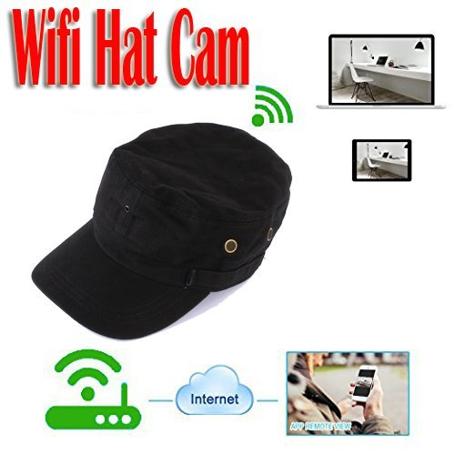 Spy Camera Hat - 8