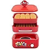 Smart Planet Hds-1s Peanuts Hot Dog Steamer, Red (Kitchen)