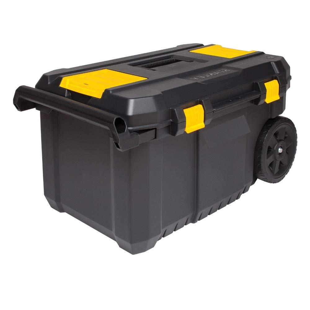 Mobile Tool Chest On Wheels Organizer Portable Lock