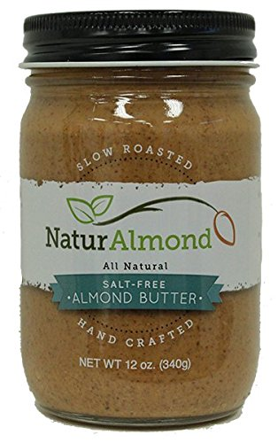 NaturAlmond ALMOND BUTTER - SALT FREE