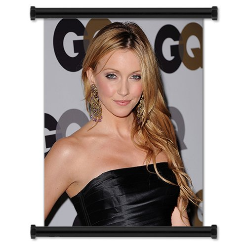 Katie Cassidy Sexy Hot Hollywood Actress Fabric Wall Scroll Poster (32
