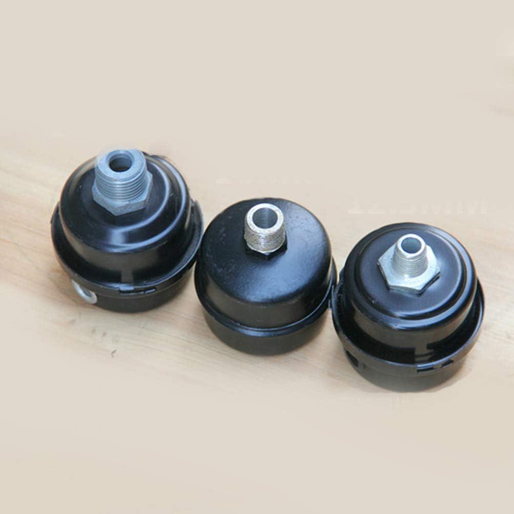 Ctzrzyt 3//4 Pulgada 20Mm Rosca Metal Compresor de Aire Filtro de Admisi/óN Silenciador Silenciador