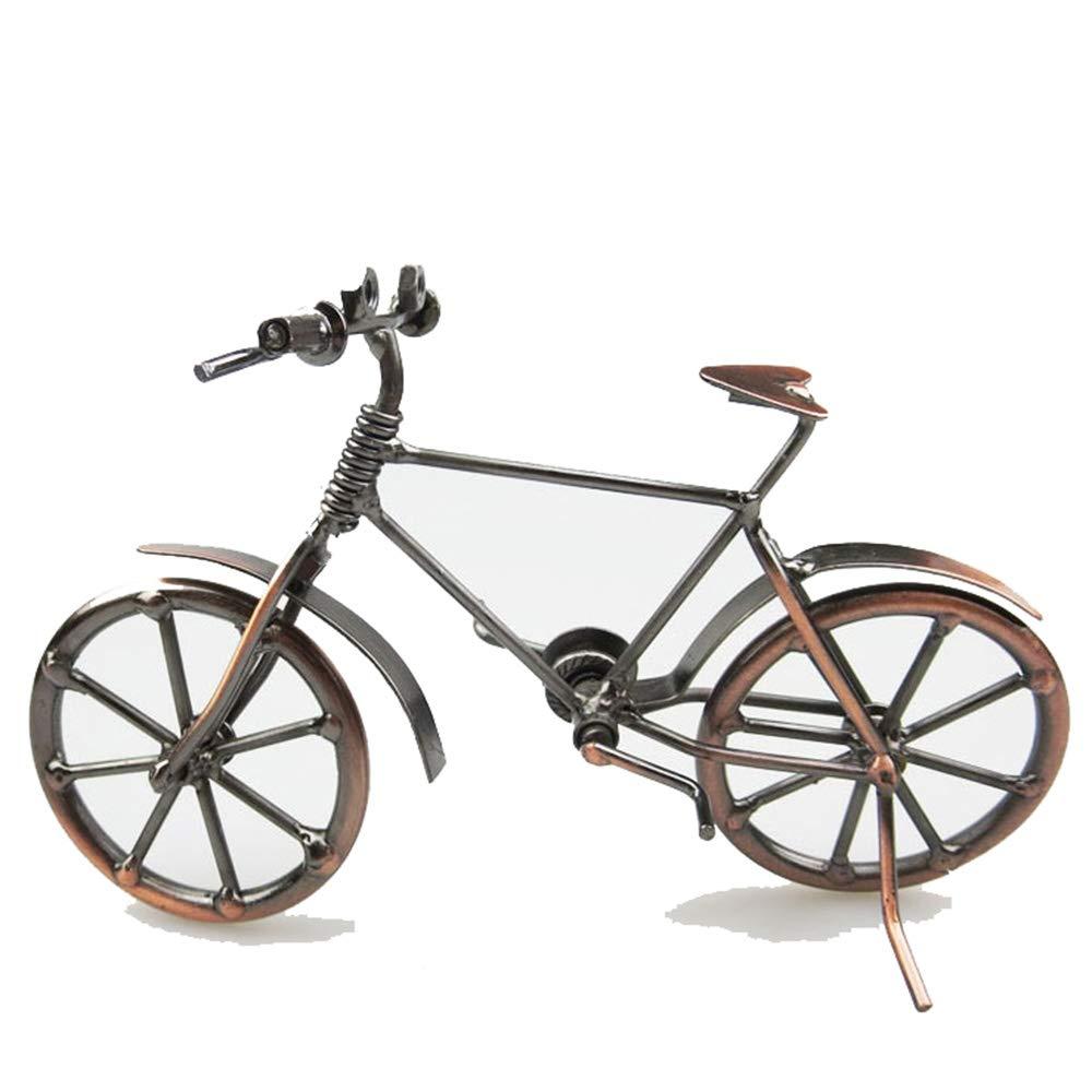 GAOXUQIANG Bicicleta estatuillas de Metal DIY Bicicleta artesan/ía para Amigo cumplea/ños Mejor Regalo decoraci/ón de Escritorio estatuilla Estatua