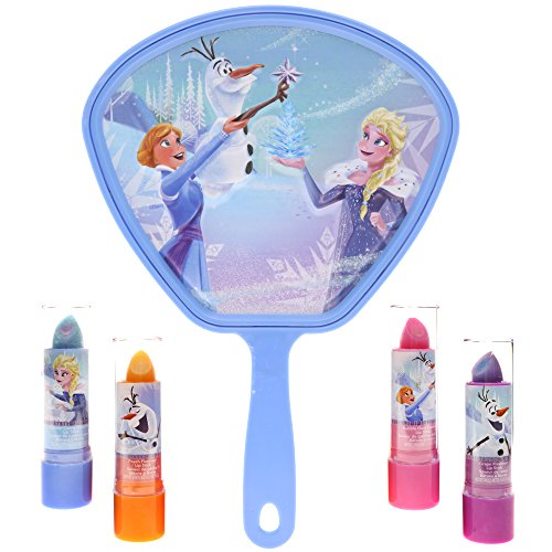TownleyGirl Frozen Super Sparkly Lip Balm Set for Girls, wit