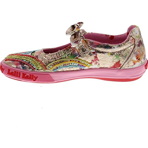 Kids Multi Jane Fantasy Lk9188 Lelli Kelly Mary Flats Shoes Girls Fashion 5Yxwpz4