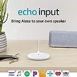 Echo Input – Bring Alexa to your own speaker- White