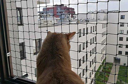 50/Fastnet 1/TUBO SILICONE 80/ml. Bird-Tech rete balcone nero per i gatti e uccelli 5/x 5/m