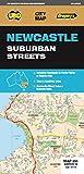 Newcastle Suburban Streets 1:25K/450K UBD (City Map)