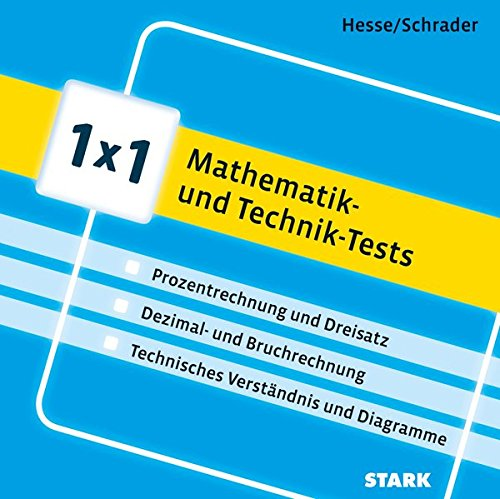 STARK 1x1 - Mathematik- und Technik-Tests