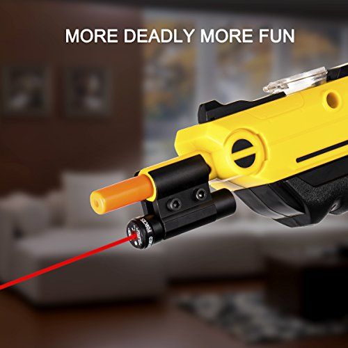 LIRISY Bug & A Salt Gun Laser Sight   Aiming Scope Fits 2.0, All Versions of Fly and Insect Eradication Shotgun   Airsoft BB Pump Spring Assault Rifles Accessories by LIRISY (Image #4)
