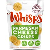 Cello Whisps Pure Parmesan Cheese Crisps, 6 Pack