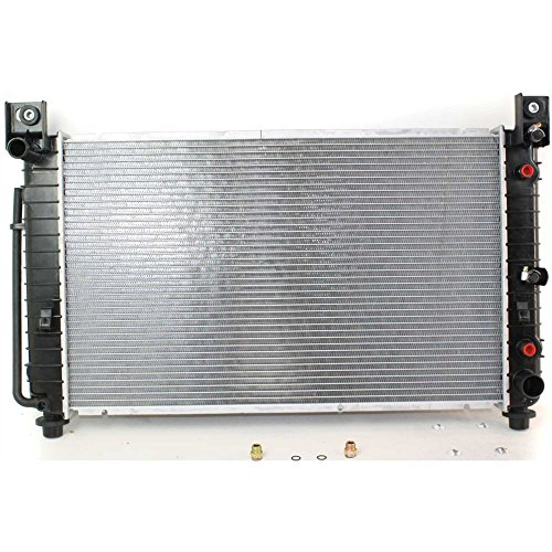 Evan-Fischer EVA27672031823 Radiator for CHEVROLET SILVERADO P/U 99-04 4.8L/5.3L 28x17 core (Replacement Radiator Escalade Cadillac)