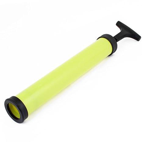 Sonline Negro amarillo Bomba de vacio Comprimido bolsa de almacenamiento de aire de extraccion