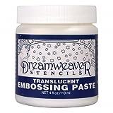 Stampendous 393520 Dreamweaver Embossing Paste - Transluscent