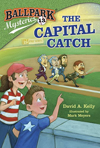 Ballpark Mysteries 13 Capital Catch ebook product image