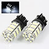 2 pcs Car/Truck/Vehicle T20 7443 White 54 SMD 3528 LED Tail brake stop LED head Light Bulb - Compatible Bulb Model(for reference only):7740, T20, 990, 991
