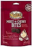 NUTRO Moist N Chewy Bites, BBQ, 6.5 oz.