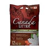 Canada Litter 12 KG Unscented 12 Kg Clumping Cat Litter Unscented, 12 Kg