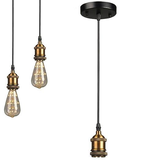 ledmomo lámparas de techo maletín clásico Lámpara de techo ...