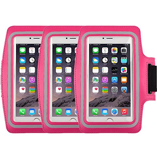Ipod Nano Armband Reviews (Racer Sport Gym Armband CaseHigh Shop with Scratch-Resistant Dual Arm-Size Slots and Key Holder for Cellphones Under 5.8 Inch iPod MP3 Player)