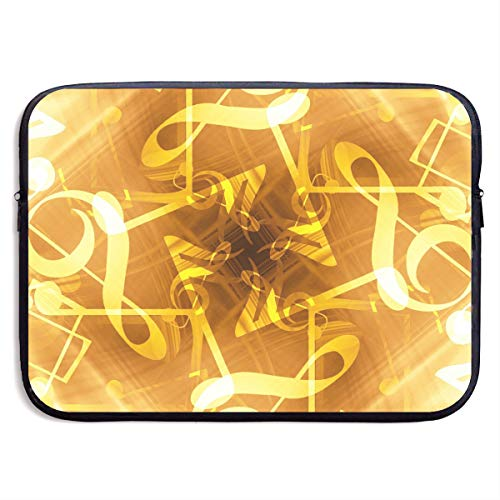 Abstract Music Notes Business Briefcase Laptop Sleeve For 13 Inch Macbook Pro Air Lenovo Samsung Sony
