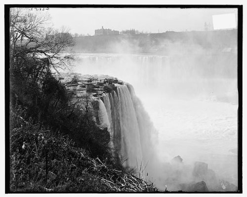 Photo: Terrapin Point,Goat Island,River,Horseshoe Falls,Niagara,cliff,New - Falls York In Shopping Niagara New
