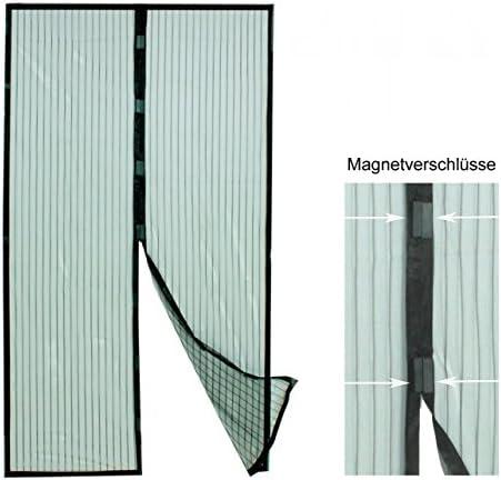 Insektenschutzvorhang mit Magnetverschluss f/ür Balkont/üren Fliegengitter