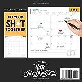 Get Shit Done Calendar 2021: Funny Motivational