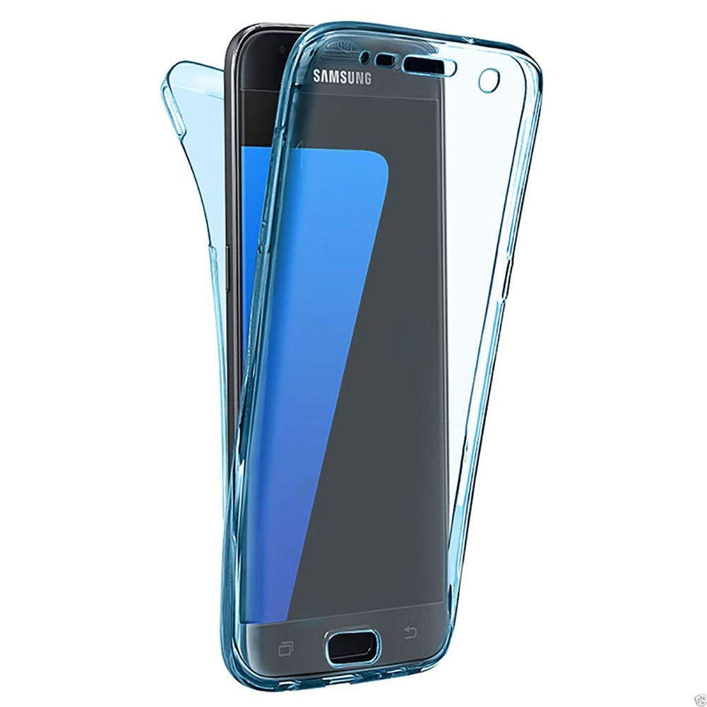 Yobby Kristallklar Hü lle Huawei Mate10 Lite, Huawei Mate10 Lite Kristall Handyhü lle Dü nn Weich Silikon Ganzkö rper Transparent Dual-Layer Stoß fest 360 Grad Komplett Schutzhü lle