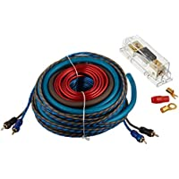 Gravity GR-KIT4ANLBi 4 Gauge Amplifier Installation ANL Kit with High Performance RCA and Speaker Wire
