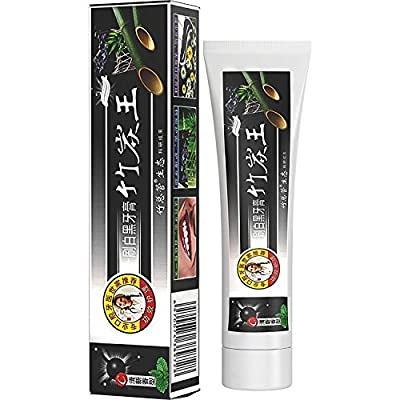 All Natural Activated Bamboo Charcoal Teeth Whitening Toothpaste