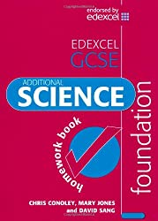 Edexcel GCSE Additional Science Foundation Homework Book (Edexcel Science)