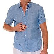 Bahia Paraiso men's linen shirt
