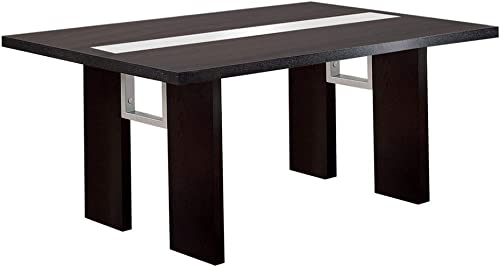William's Home Furnishing CM3559T Luminar Dining Table