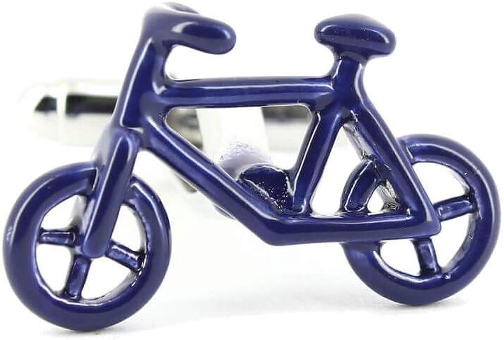 Tony & Paul - Gemelos para Bicicleta, Color Azul: Amazon.es: Joyería