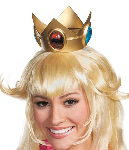 Princess Peach Crown Costume Accessory