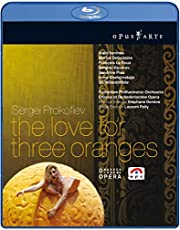 Sergei Prokofiev: The Love for Three Oranges [Blu-ray] (Sous-titres français) [Import]
