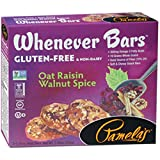 Pamela's Products Whenever Bars, Oat Raisin Walnut Spice, 5 CT (Pack of 1)