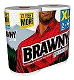Brawny® Paper Towels, Pick-A-Size, 2 XL Rolls