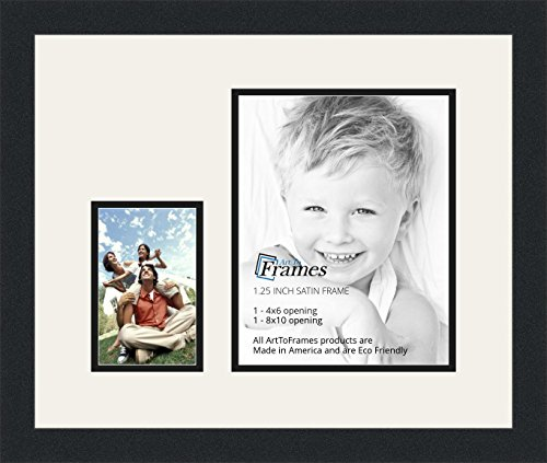 ArtToFrames Double-Multimat-249-61/89-FRBW26079 Collage P...