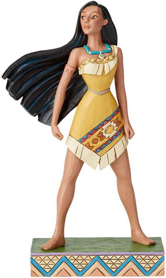 Enesco Disney Traditions by Jim Shore Princess Passion Pocahontas Figurine, 7.625 Inch, Multicolor