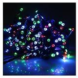 AGPtek® Solar Power 200 LED String Fairy Light Outdoor Multicolor