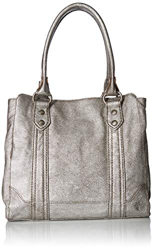 Frye Melissa Tote, Silver, One Size