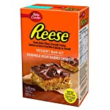 Reese Peanut Butter Filling and Chocolate Frosting Dessert Bar Kit, 503 Gra