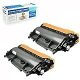 2 Trays Printer - Ledona 2 Pack Tn-450 Tn450 Toner Cartridge For Brother Mfc-7365Dn 7460Dn 7860Dw Printer