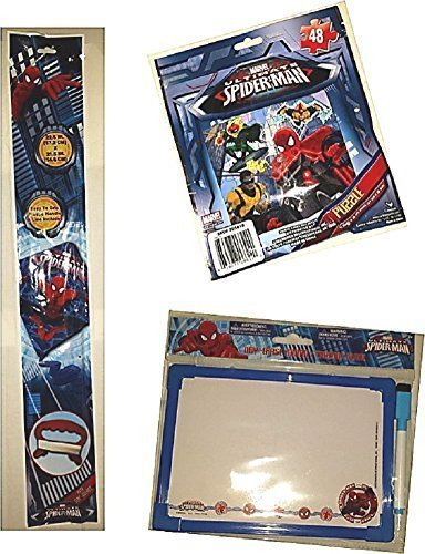 Spiderman SKYDIAMOND KITE Puzzle Dry Erase Board Gift Travel Activity Set Poly Diamond by Marvel
