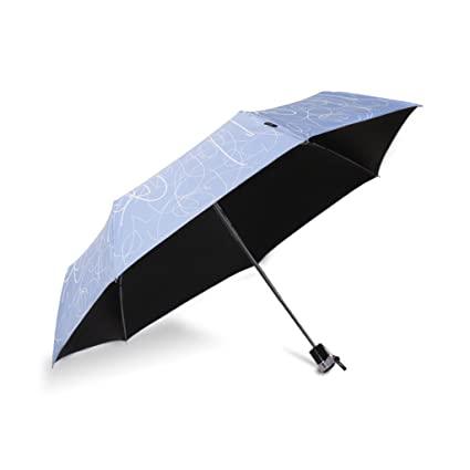A Paraguas Plegable Anti-ultravioleta Paraguas Dom Negro Paraguas