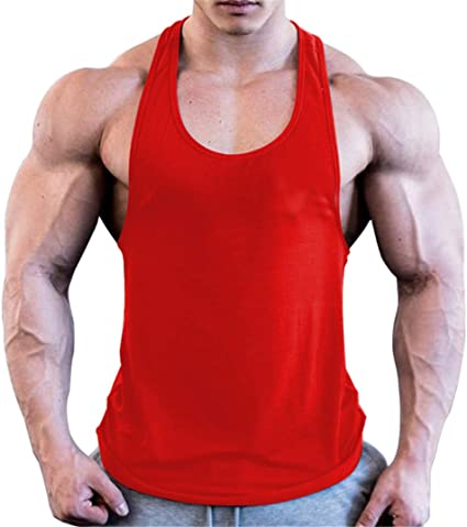 HOTCAT Chaleco para Hombres Deportivo Camiseta Sin Mangas de Tirante Capucha Gimnasio M/úsculo Formaci/ón T/única Fitness Tank Top